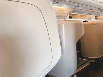 cathay pacific business class a350 1000 sichtschutz 1