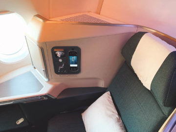 cathay pacific business class a350 1000 sitz 10