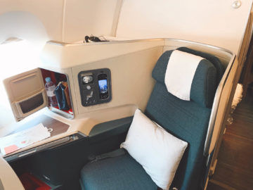 cathay pacific business class a350 1000 sitz 4