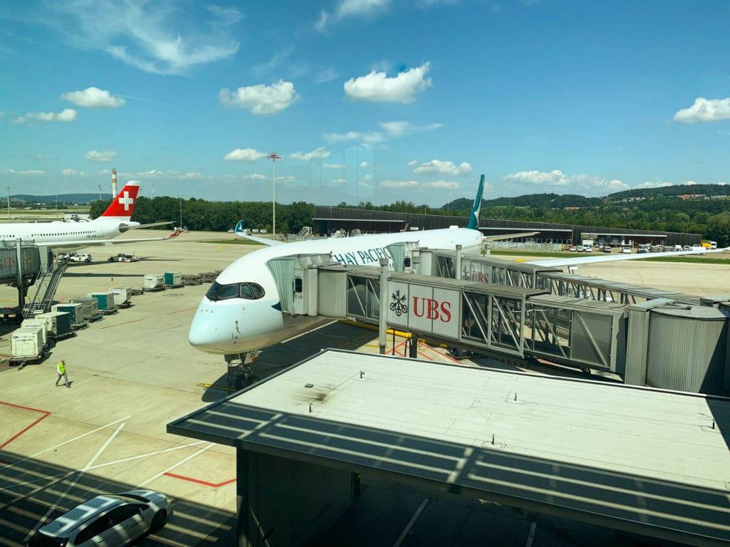 Cathay Pacific A350-1000 - Mein Flieger nach Hongkong