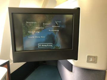 cathay pacific business class a330 flugroute