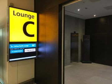 cathaypacific business class lounge londonheathrow bereich