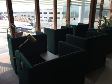cathaypacific business class lounge londonheathrow chillbereich