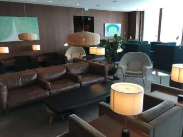 cathaypacific business class lounge londonheathrow hauptbereich