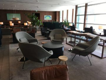cathaypacific business class lounge londonheathrow sitzgruppe
