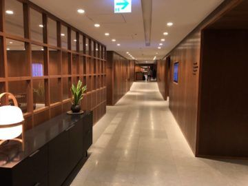 cathaypacific business class lounge taiwan taoyuan flur