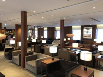 cathaypacific business class lounge taiwan taoyuan hauptbereich2