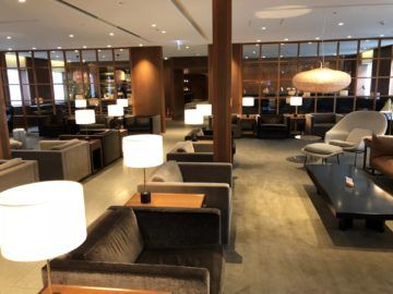 cathaypacific business class lounge taiwan taoyuan hauptbereich4