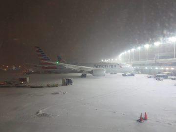 Chicago Airport Winter