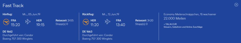 Condor Flugwochen Frankfurt Heraklion