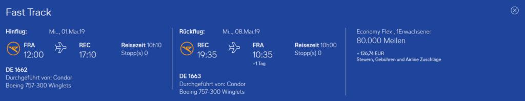 Condor Flugwochen Frankfurt Recife