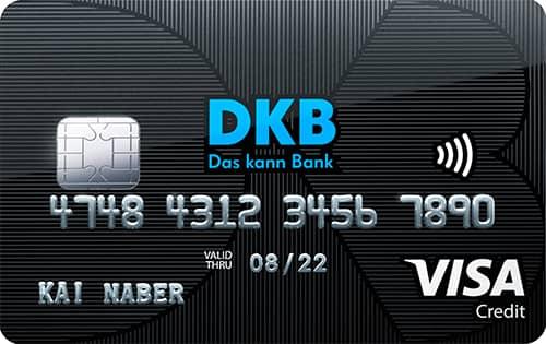 dkb cash visa kreditkarte