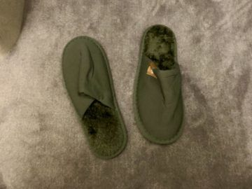 emirates alte first class a380 amenity kit slipper