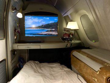 emirates alte first class a380 bett 2