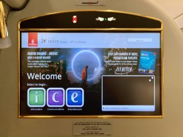 emirates alte first class a380 entertainment 1