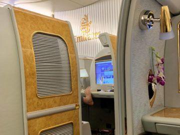 emirates alte first class a380 fuesse