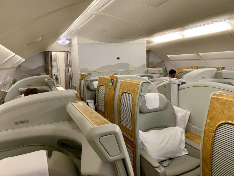 emirates alte first class a380 kabine 1