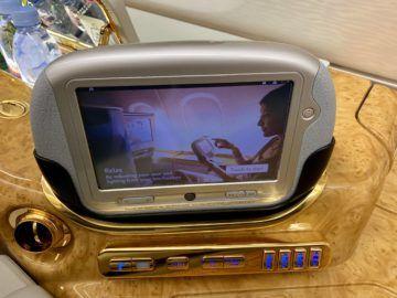 emirates alte first class a380 konsole 2