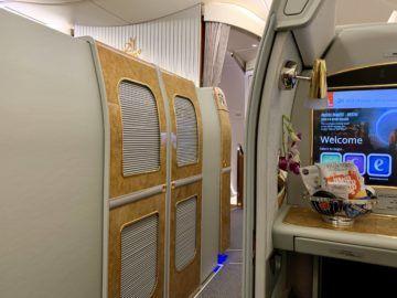 emirates alte first class a380 tuer 1