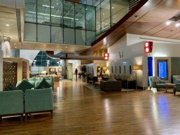 emirates first class lounge dubai concourse b eingangsbereich 2