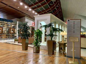 emirates first class lounge dubai concourse b raucherbereich 1