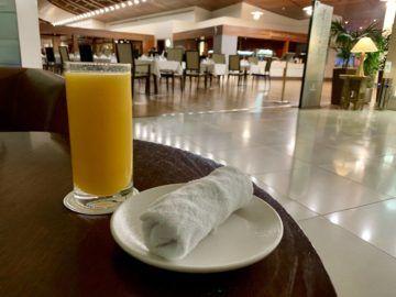 emirates first class lounge dubai concourse b restaurant saft