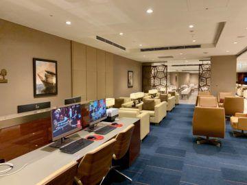 emirates lounge tokio narita arbeitsbereich 2