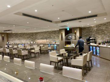emirates lounge tokio narita buffet 1a