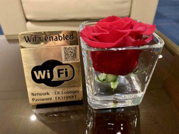 emirates lounge tokio narita wifi