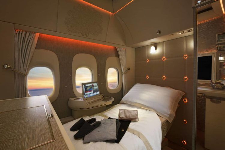 emirates neue first class suite boeing 777