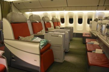 ethiopian airlines business class boeing 777 200lr dreierreihe
