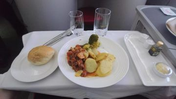 ethiopian airlines business class boeing 787 8 chicken