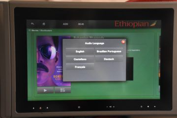 ethiopian airlines business class boeing 787 8 entertainment filmsprachen
