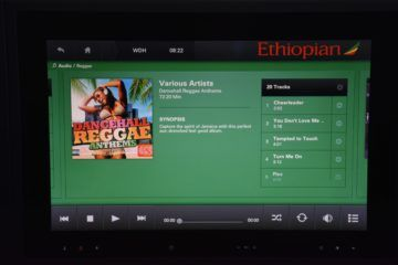 ethiopian airlines business class boeing 787 8 entertainment musik