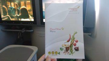 ethiopian airlines business class boeing 787 8 speisekarte deckblatt