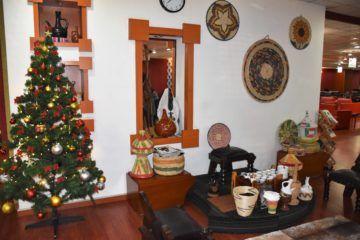 Weihnachtsbaum trifft auf Kaffeekultur