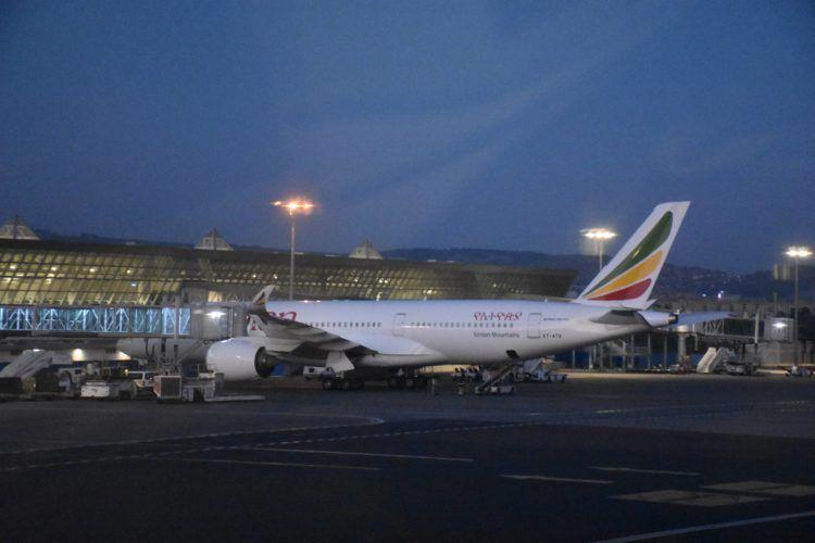 ethiopian airlines fluggeraet