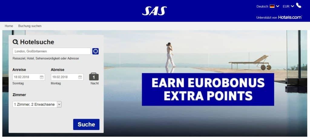 eurobonus hotels com