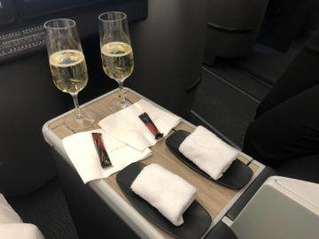 eva air business class a330 300 sekt tuch