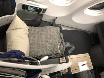 eva air business class a330 300 sitz bett