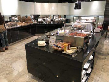 eva air lounge the infinity buffetbereich