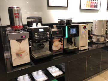 eva air lounge the infinity kaffemaschine