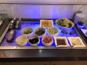 eva air lounge the star salat bar