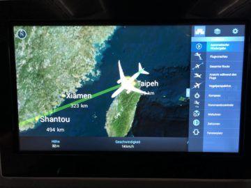 eva air neue business class boeing 787 9 menueauswahl