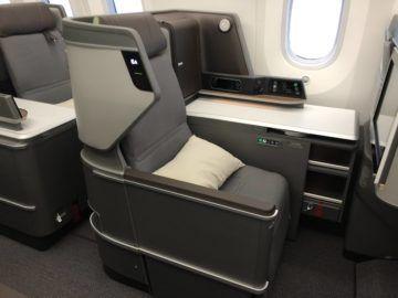 eva air neue business class boeing 787 9 sitz ablageflaeche fenster