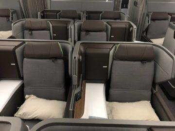 eva air neue business class boeing 787 9 sitzreihen hinter uns