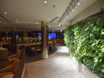fiji airways premier lounge nadi eingangsbereich