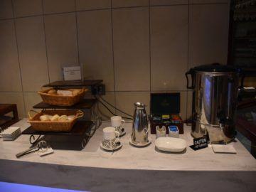 Tee und Brötchen