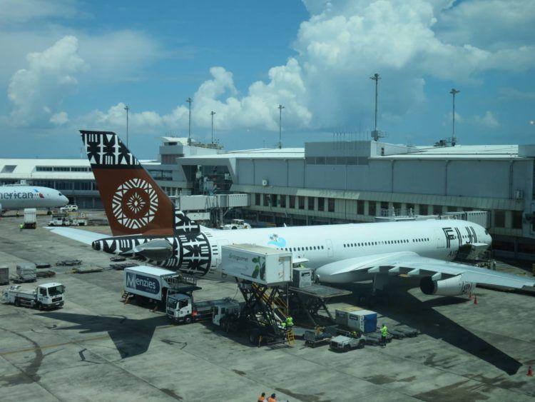fiji airways auckland airport