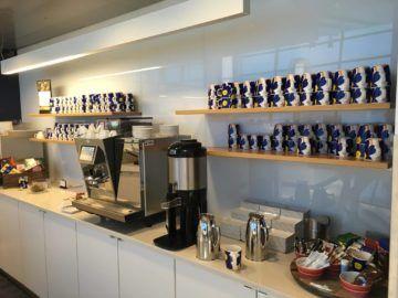 finnair lounge helsinki kaffeemaschine